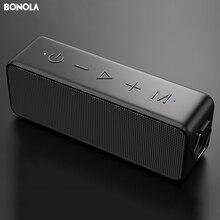 Bonola-altavoz inalámbrico portátil con Bluetooth 5,0 con sonido estéreo, altavoz IPX7 de frecuencia completa con tecnología TWS, micrófono a prueba de agua TF AUX, 20W