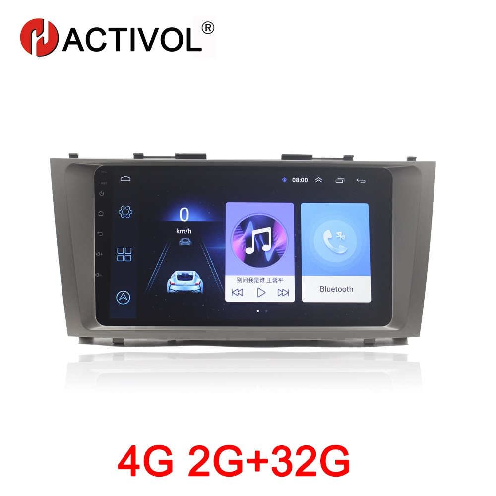 HACTIVOL 2G+32G Android 8.1 Car Radio for Toyota Camry AURION V40 2006-2011 car dvd player gps navi car accessory 4G internet