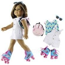 1 ensemble vêtements de poupée tenue vêtements pour 18 pouces poupée américaine beaucoup de Style pour le choix A13