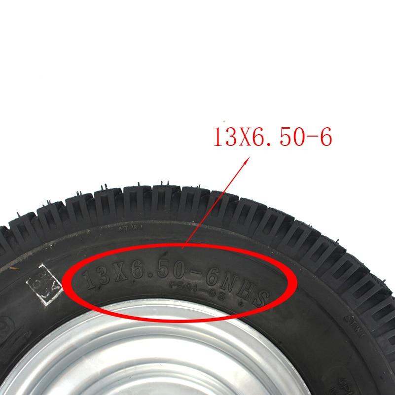 Go Kart Buggy Atv Utv Gran Oferta Buena Reputación Rueda De 13x6 50 6 Pulgadas Con Buje Neumáticos Aliexpress