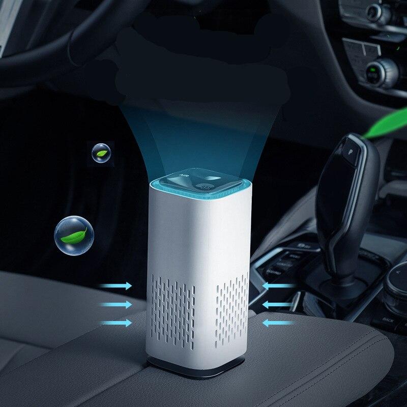 Car Air Purifier Cleaner Negative Ion USB Mini Home Vehicle Air Cleaner Remove Formaldehyde Air Puri