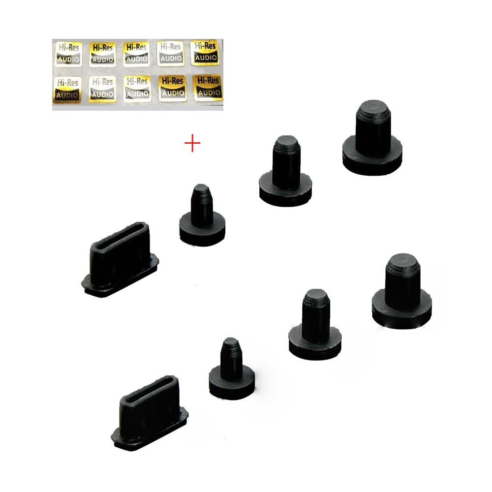 2 комплекта Пылезащитная заглушка для iBasso DX220 DX200 DX160 DX150 для SHANLING M6 2,5 мм 3,5 мм 4,4 мм разъем типа C