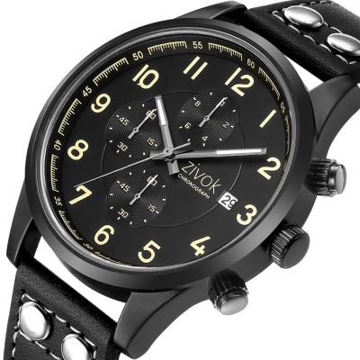 2019 Fashion Quartz Watch Men Watches Top Brand Luxury Male Clock Business Mens Wrist Watch  Waterproof Clock