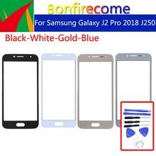 "5,0 ""Für Samsung Galaxy J2 Pro 2018 J250 J250M J250G Grand Prime Pro Touch Screen Front Panel Glas Objektiv äußere LCD Glas"
