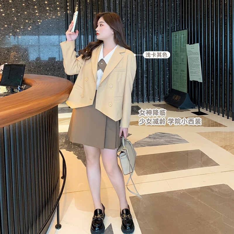 Spring and Autumn Custom Fashion All-Matching Suit Jacket Women's Early Spring Slim Fit Slimming Hon
