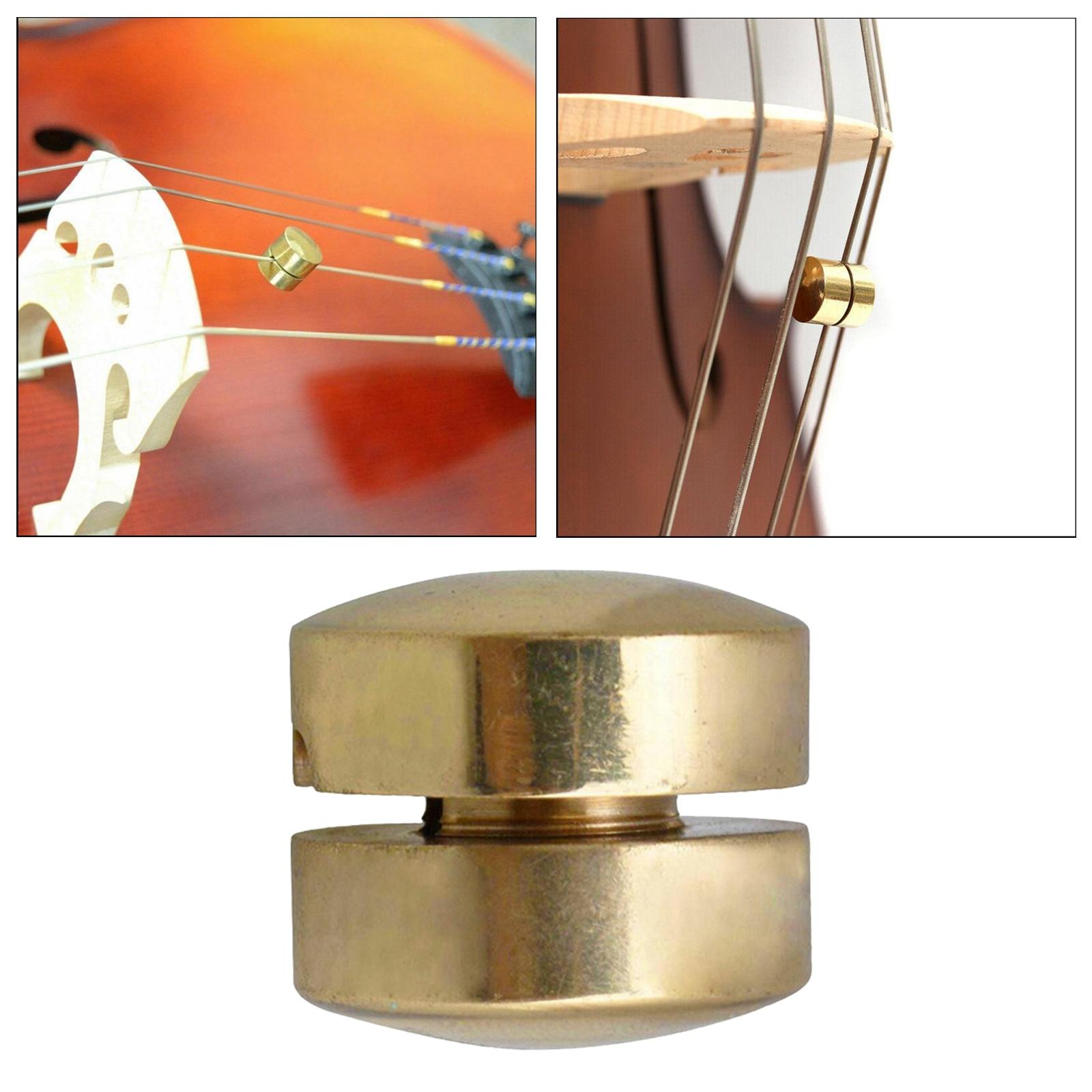 Mini Portable Brass Cello Wolf Tone  Violin Wolf Tone Mute Suppressor Tube Eliminate Wolf Tone, 2 Type