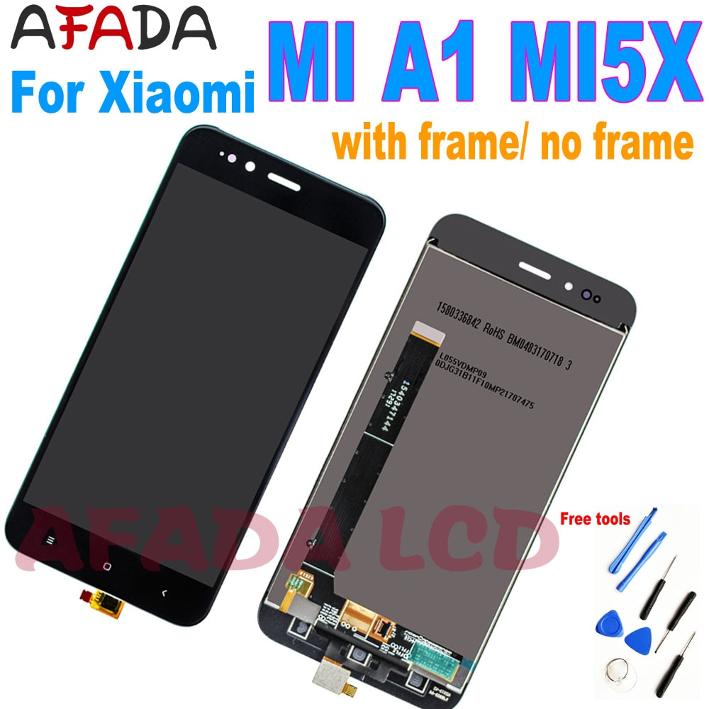new 7 9 inch lcd display touch screen assembly replacement for acer iconia tab a1 810 a1 810 a1 811 a1 811 tablet pc protection 5.5'' For Xiaomi Mi A1 MiA1 Mi5X Mi 5X Lcd Display Touch Screen Digitizer with Frame Replacement Parts For Xiaomi Mi A1 LCD