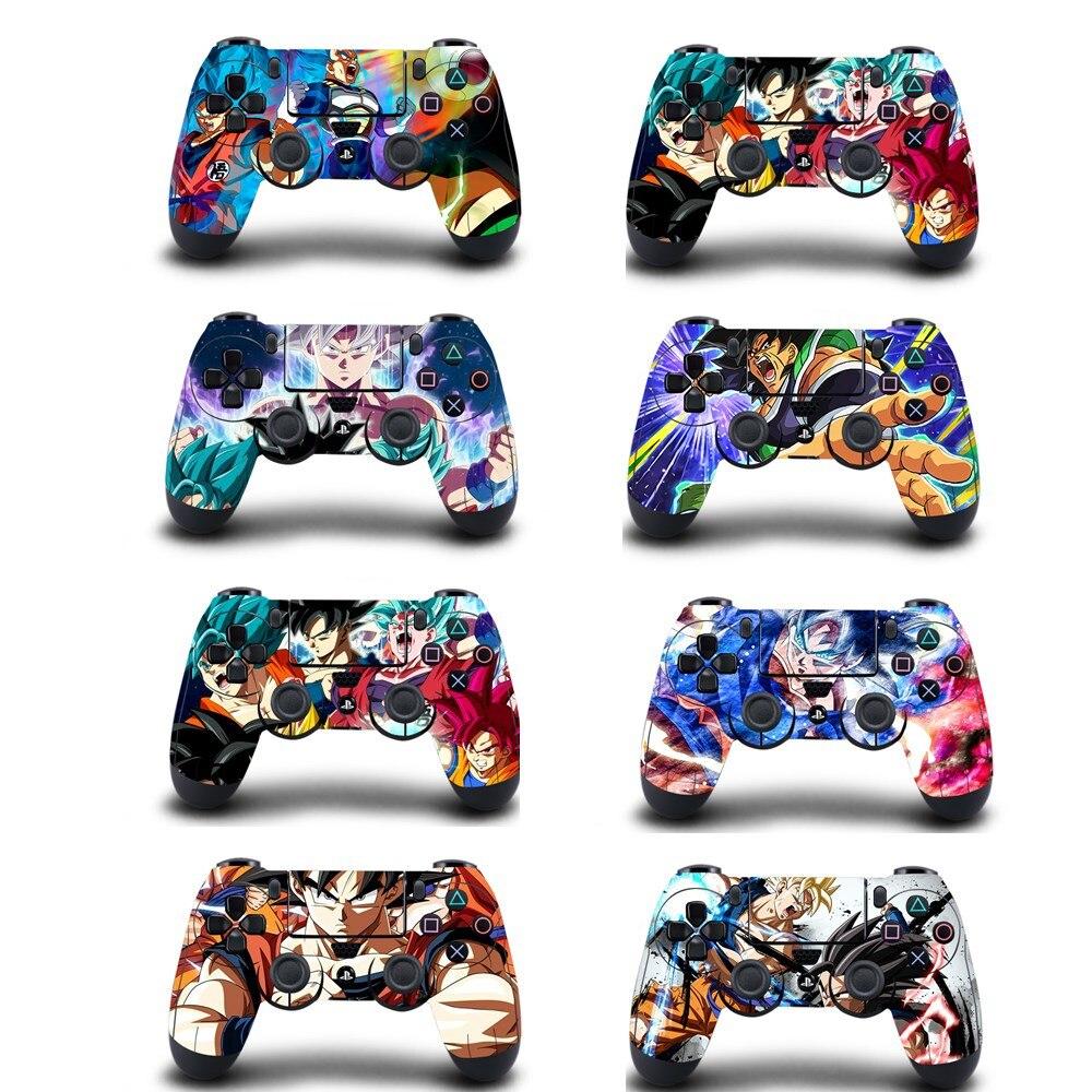Аниме Dragon Ball Супер PS4 Кожа Наклейка виниловая Обложка для sony PS4 playstation 4 Dualshock 4 контроллер наклейка s Чехол