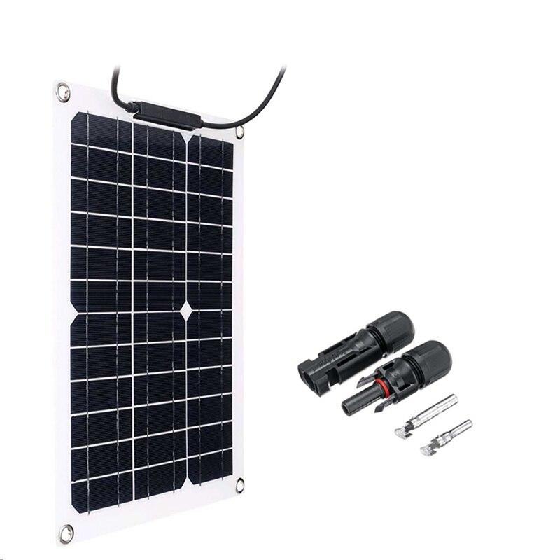 300 واط واط المحمولة أحادية لوحة شمسية بلورية 18 فولت RV شاحن بطارية السيارة