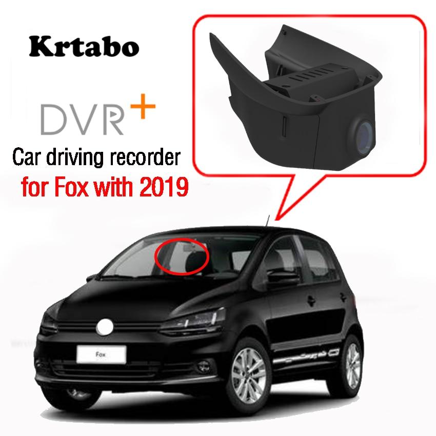 Wi-fi Car DVR Gravador De Vídeo Traço Cam Câmera para Fox com 2019 de alta qualidade de visão Noturna CCD full hd