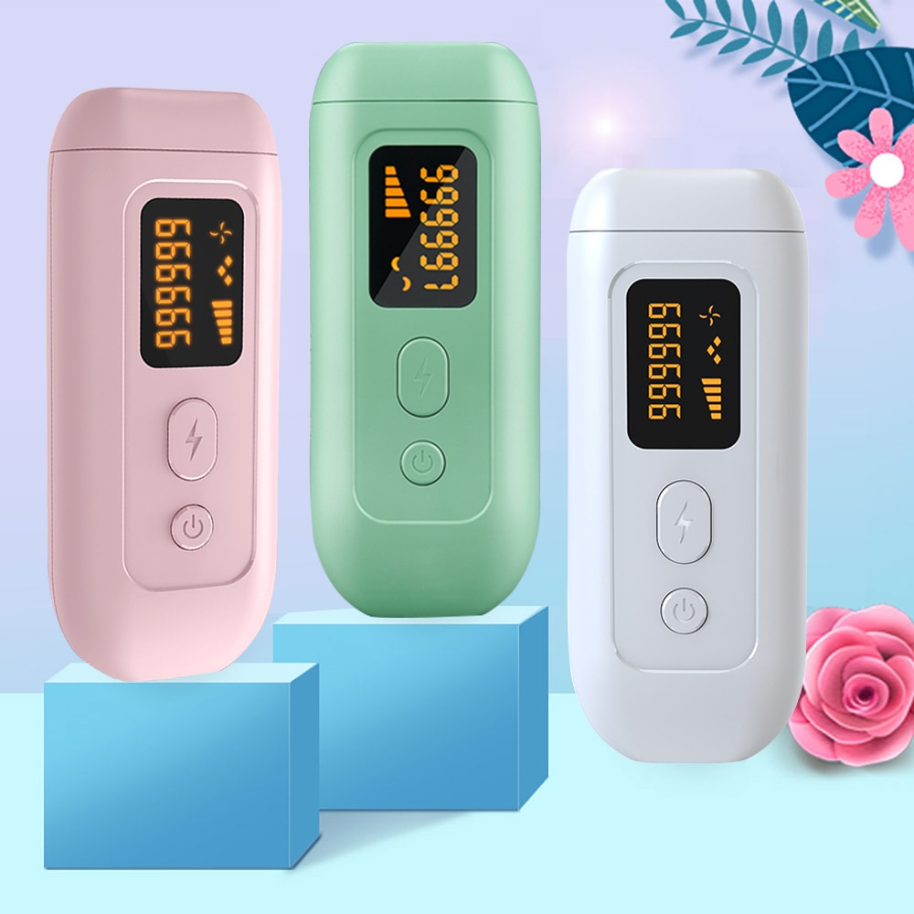 990000 Flashes IPL Laser Epilator Face Body Shaver Electric Hair Removal Machine for Underarms Beards Legs