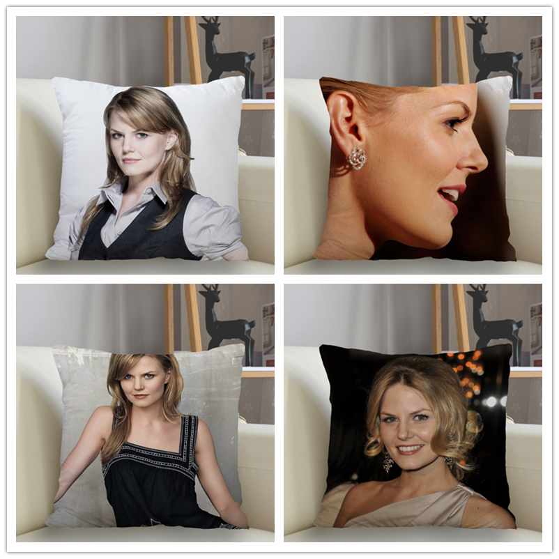 Musife Jennifer Morrison Pillowcase Custom Square Pillow Cover Case Zipper Pillowcase 35*35,40*40,45*45cm Drop Shipping