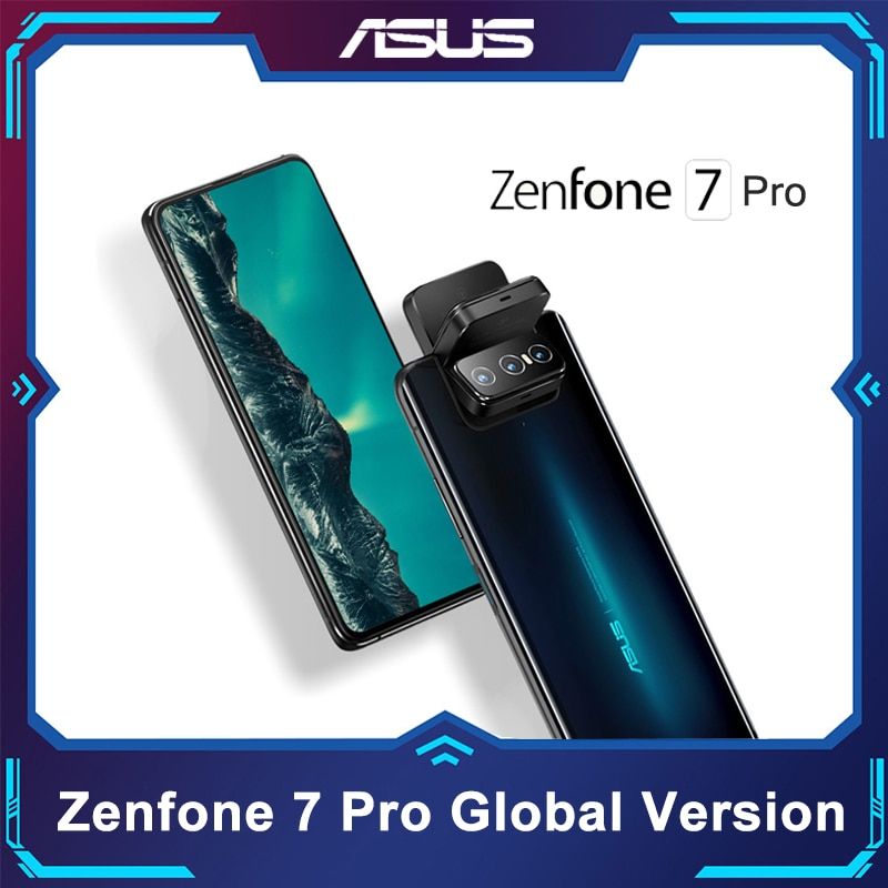 ASUS Zenfone 7/ 7Pro 8GB RAM 128/256GB ROM Snapdragon 865/865Plus 5000mAh NFC Android Q 90Hz 5G Smartphone Global Version
