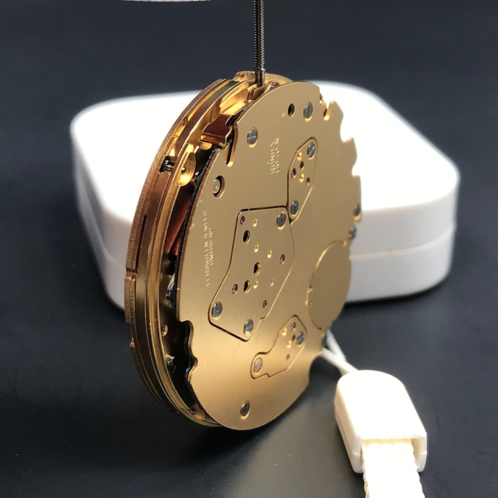 Quartz Movement With 13 Jewels 8040/8040N Swiss Made/Swiss Parts Watchmaker Ronda's Mastertech Line 8040.N Multi-Function enlarge