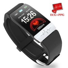 ECG PPG 스마트 시계 피트니스 트래커 방수 심박수 모니터 스마트 밴드 혈압 스마트 팔찌 IOS 안드로이드 적합
