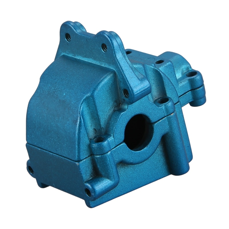 Metal Wave Box Gear Box Upper and Lower Cover 144001-1254 for 1/14 WLtoys 144001 RC Car Spare Parts,Blue enlarge