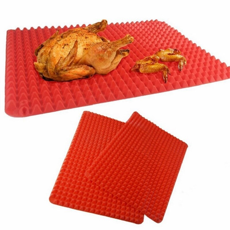 Kitchen Baking Tools BBQ Bakeware Nonstick Silicone Baking Mats Pad Moulds Microwave Oven Baking Tray Sheet кухня инструменты