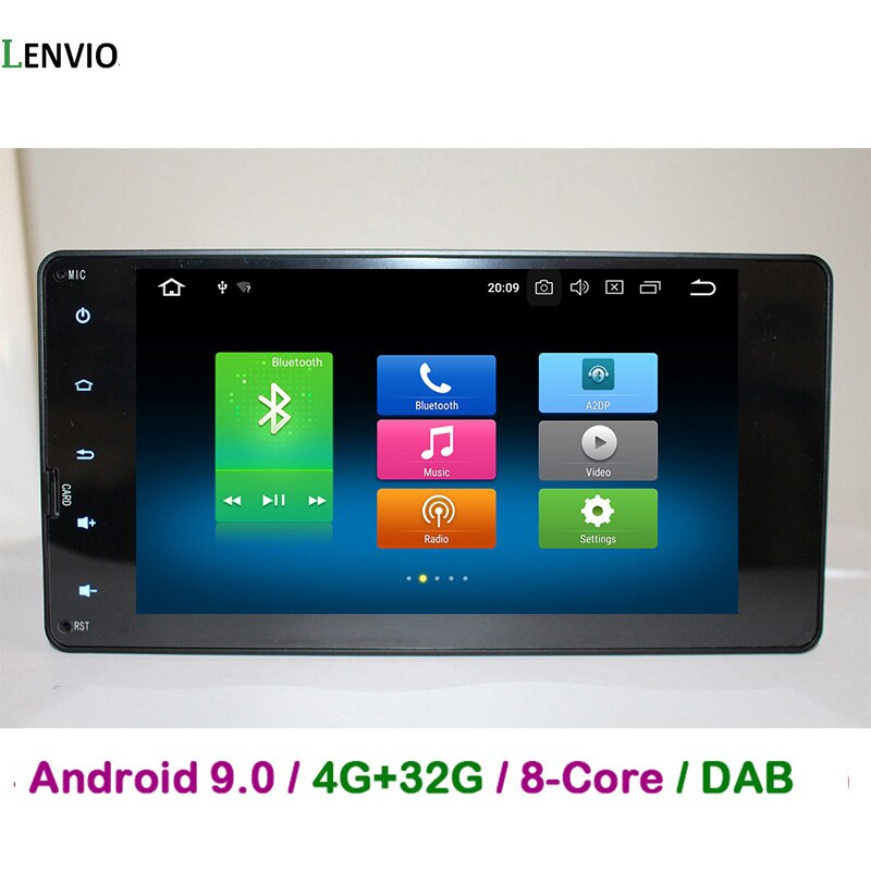 Lenvio 4G RAM Octa Core Android 9,0 reproductor de DVD GPS para Mitsubishi Pajero V93 V97 Outlander 2012-2015 deporte L200 2015, 2016