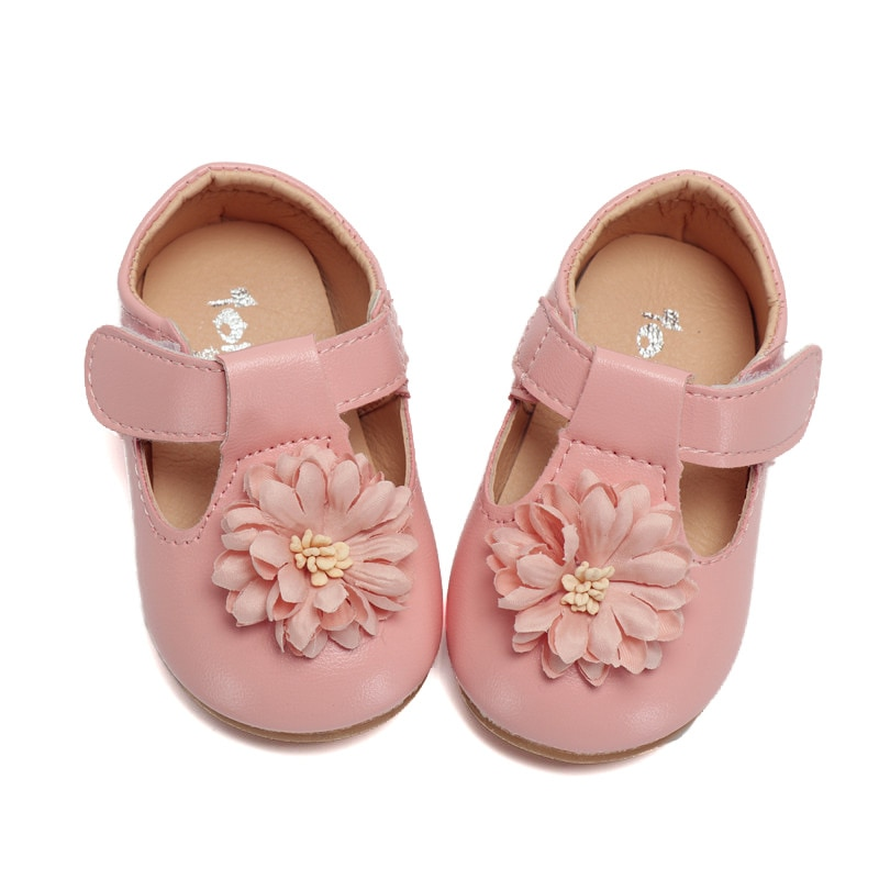 Soft Sole Baby Shoes Kids Flower Princess Shoes For Wedding Party Baby Girls Toddler Shoes Child Sin