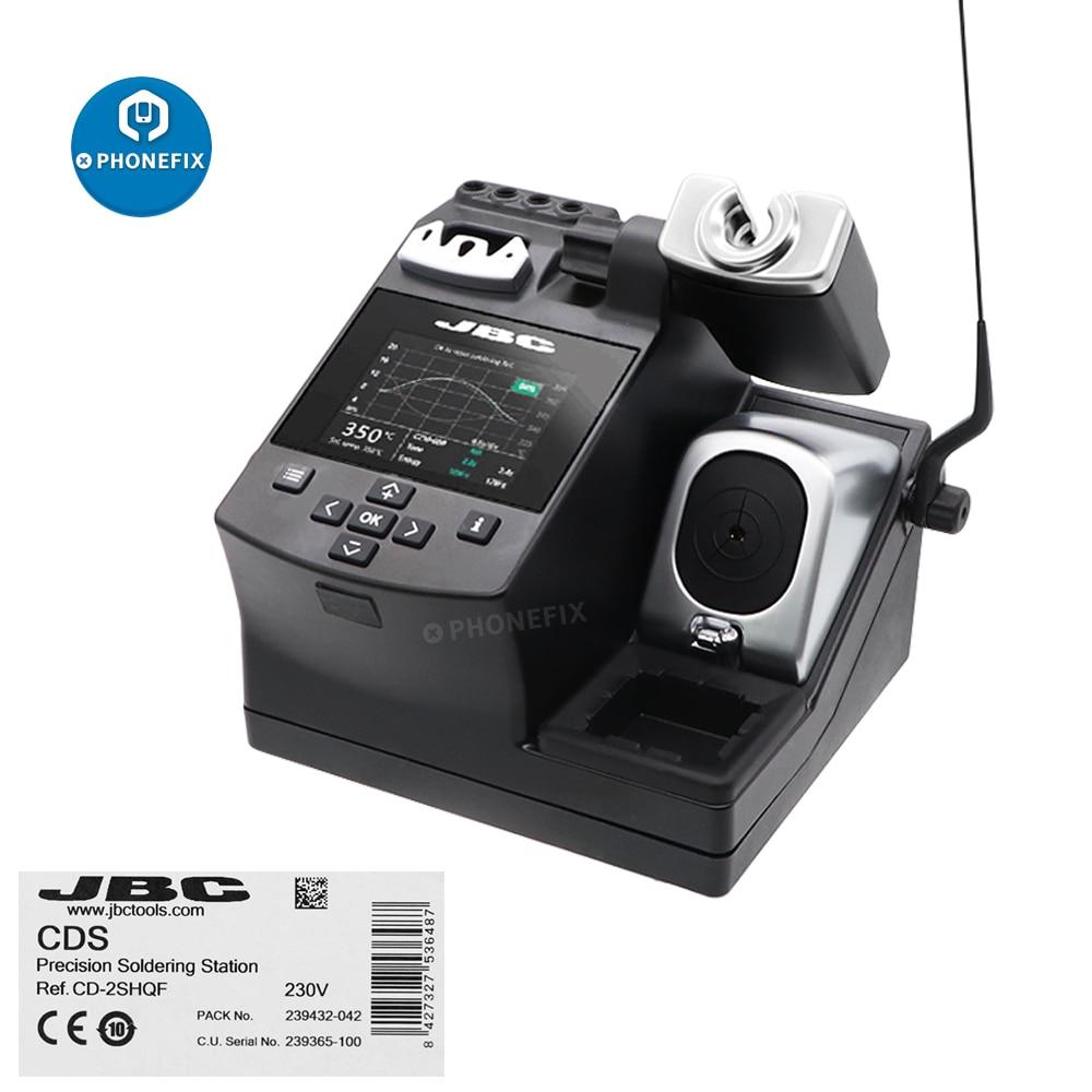 الأصلي JBC لحام محطة JBC CD-2SE مع T210-A الدقة الأغراض مقبض JBC الحصري نظام التدفئة للهاتف إصلاح