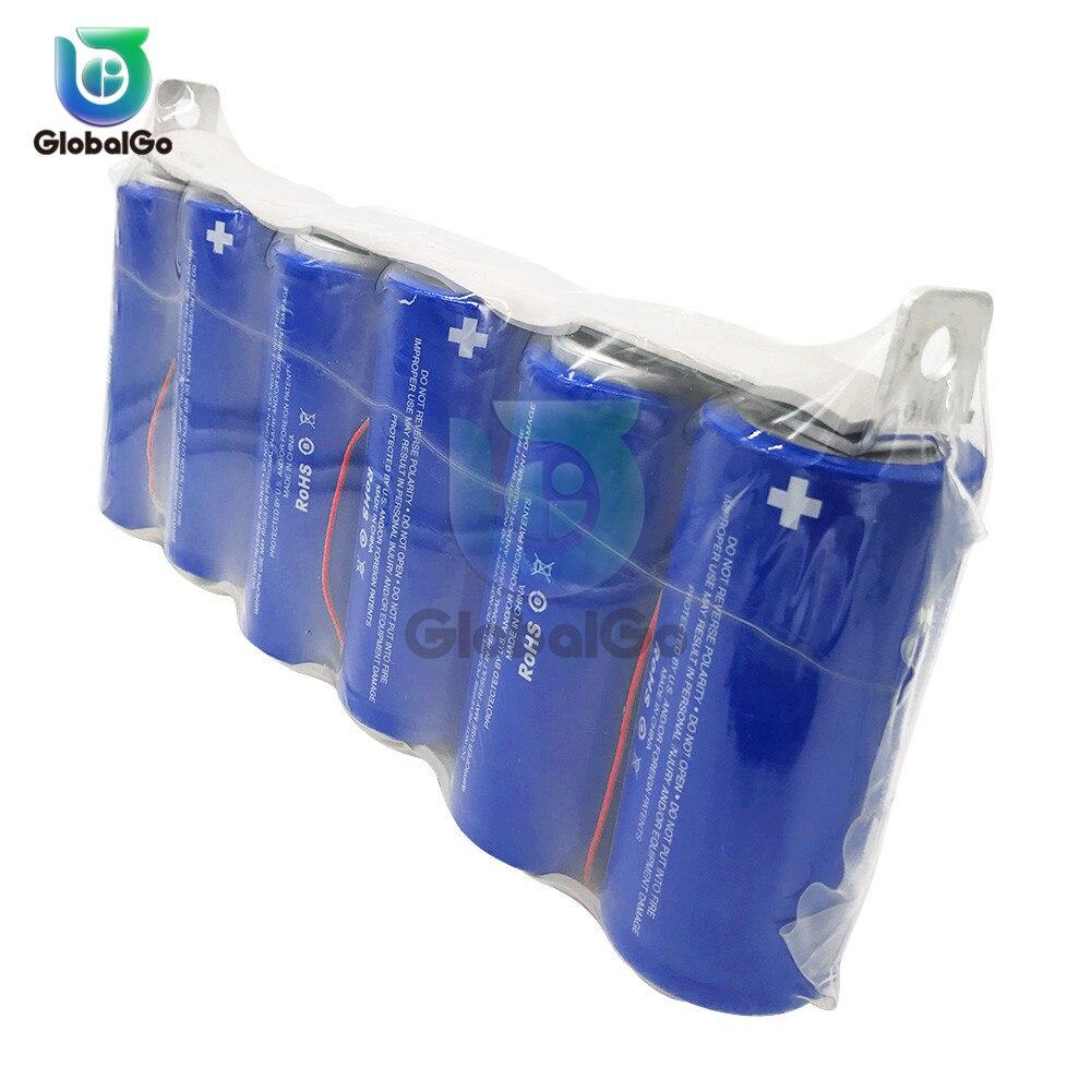 6 unids/pack condensadores Super Farad Placa de protección 2,85 V 3400F Auto coche de una sola fila automotriz condensador jugue