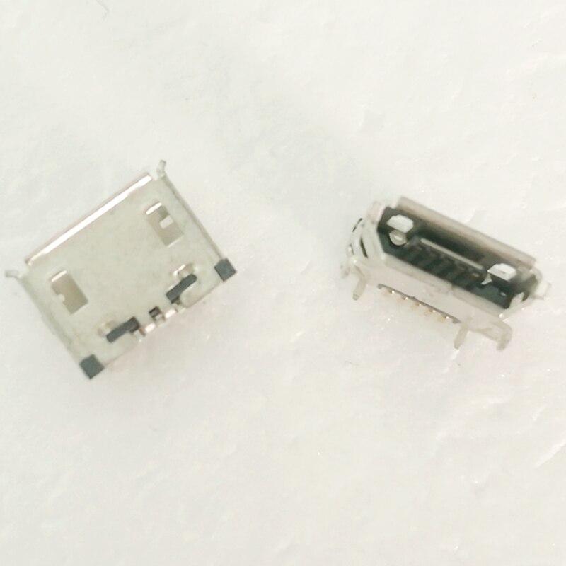 100 pçs/lote mini micro usb porta de carregamento carregador bloco soquete conector plug para lg p970 ls855 vx9100 carga plugue alimentação