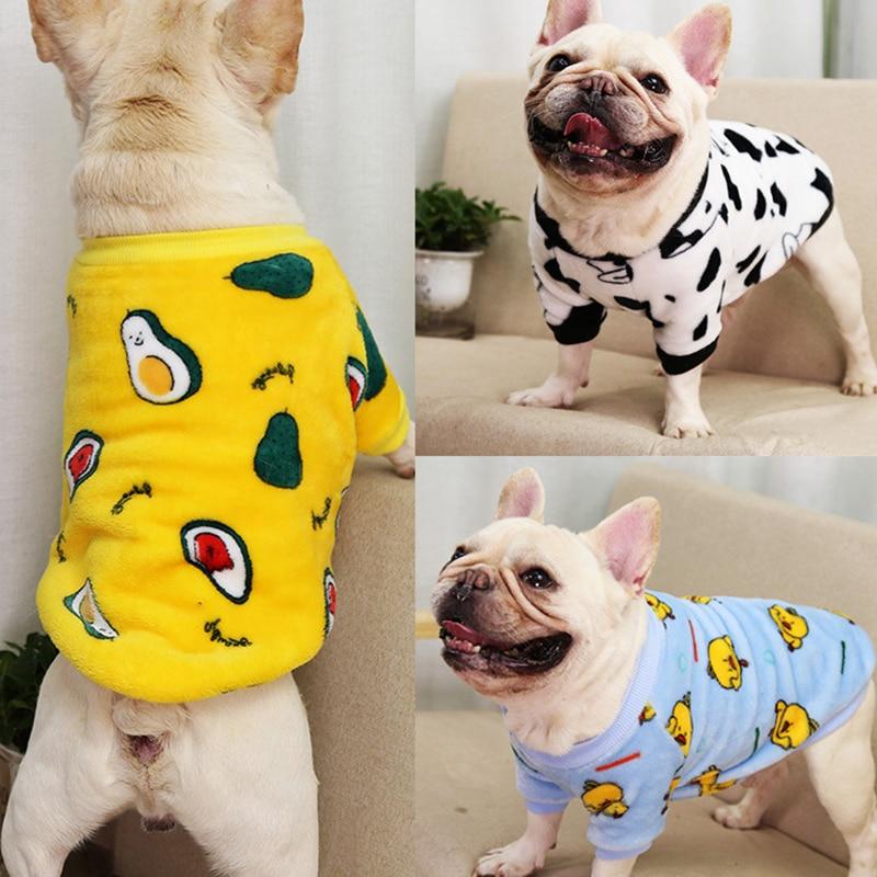 Товары для домашних животных, пижамы с принтом для собак, пижамы для кошек, теплые пижамы, удобные пижамы для домашних животных