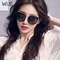 wue 2021 fashion sunglasses women driving mirrors vintage for women reflective flat lens sun glasses female oculos uv400