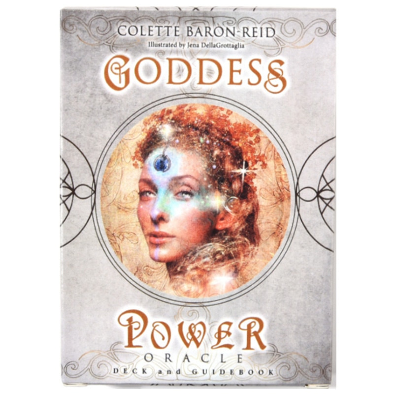 The Goddess Power Oracle Cards Tarot Deck Altar Divination Tarot Oracle Cards For Card Board Game Accessories kipper fortune telling deck altar divination tarot oracle cards for card board game accessories