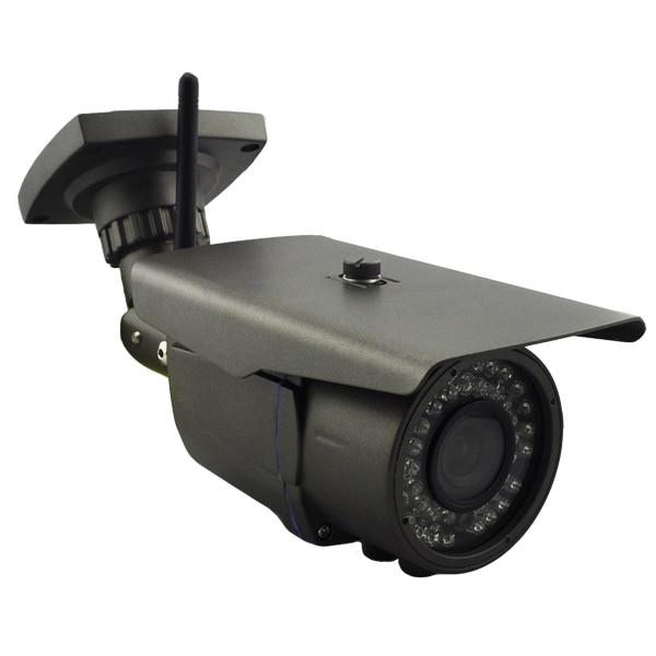 ¡Nuevo! 1/3 sony sensor HD CMOS 40M IR impermeable 5 megapíxeles 1080P cámara IP con P2P... ONVIF bajo Lux lente Varifocal 4-9mm