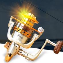 YUMOSHI EF1000-9000 filature moulinet de pêche roue en métal pêche en mer 12BB bobine en métal filature bobine bateau roche moulinet de pêche