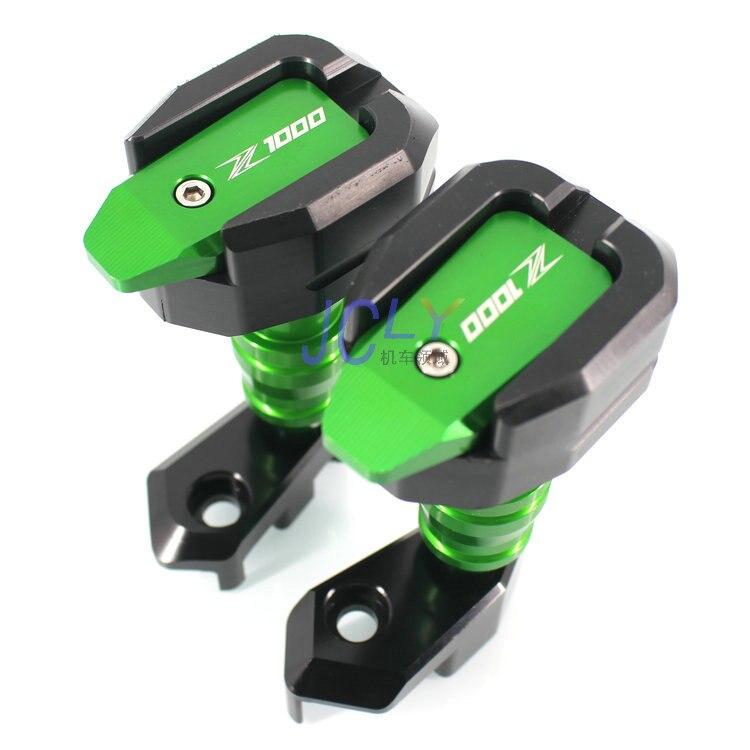 Piezas Z1000 SX marco deslizante para Kawasaki Z1000 Z1000SX 2010-2017 accesorios de motocicleta almohadilla de choque Protector de protección del motor