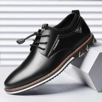 cow leather mens shoes british style low top casual shoes extra large 48 casual dress oxford style new 2021