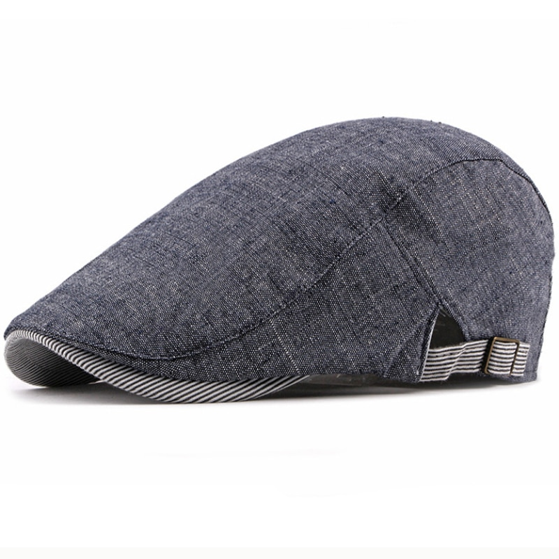 MZ588 Spring Summer Cotton Caps for Men Women Adjustable Beret Cap Artist Painter Hat Berets Vintage Unisex Ivy Newsboy Flat Cap недорого