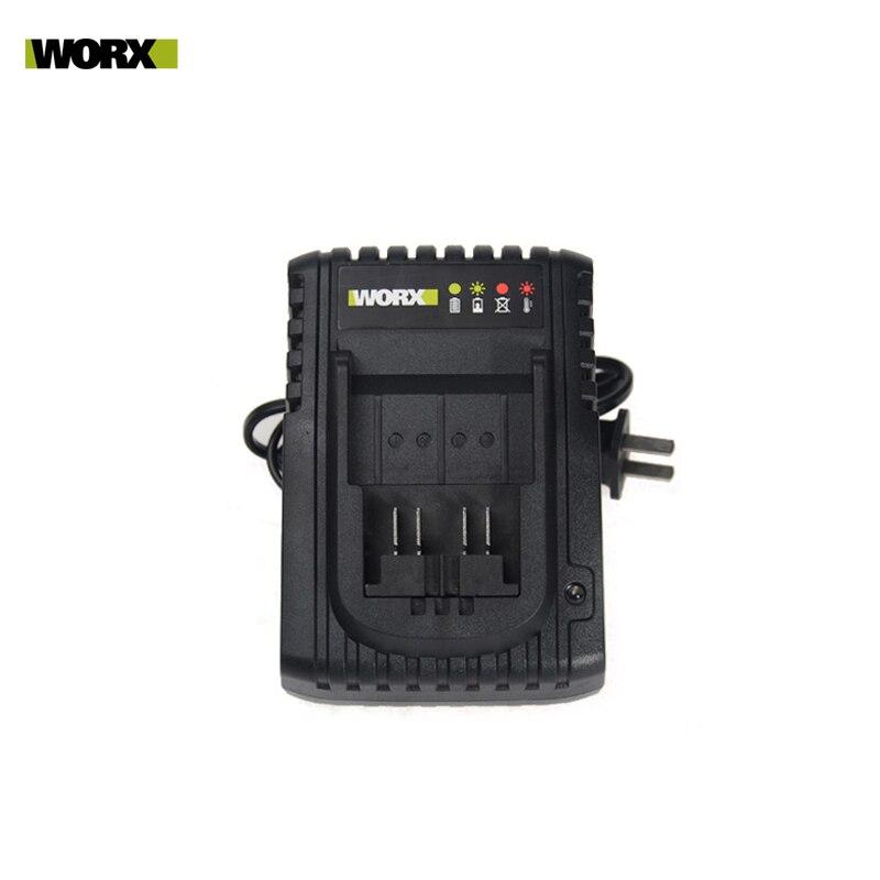 WORX-شاحن بطارية الليثيوم WA3921 ، بطارية 40W / WA3922 160W 20V