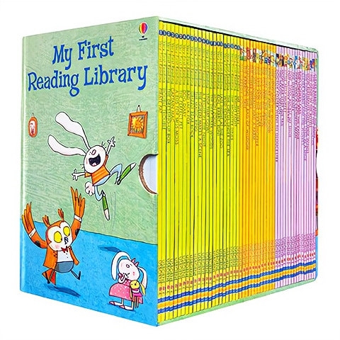 50 books/set Usborne My First Reading Library English Picture Books Baby Early Childhood words learning gift For kids