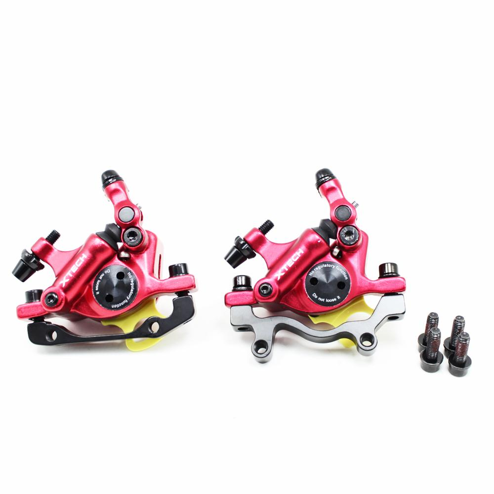 ZOOM MTB Road Bike Hydraulic Disc Brake Calipers Electric Scooter Aluminum Front & Rear Brakes for Xiaomi M365