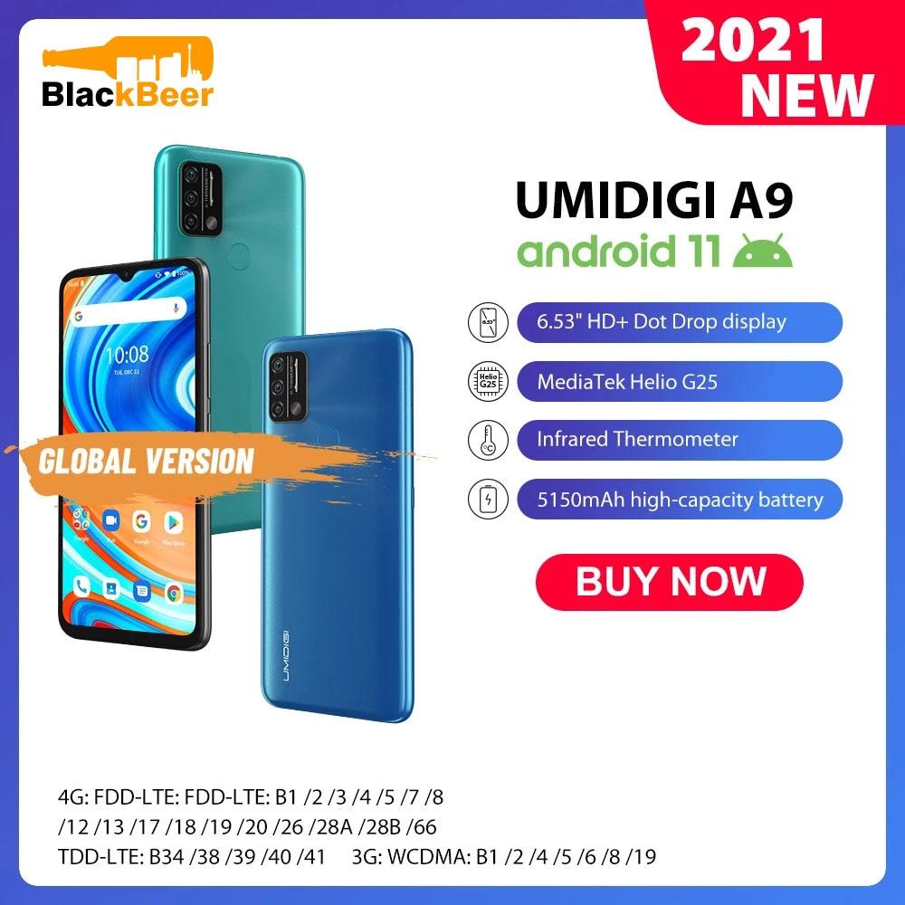UMIDIGI A9 Android 11 4G SmartPhone 6.53