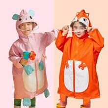 Manteau imperméable 80-140CM pour enfants   Manteau de pluie imperméable pour enfants, garçons et filles, vestes Ponchos chubasqueros