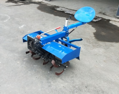 powerful four-wheels drive 20 horsepower two wheels agriculture tractor multi-function+ rotary tiller enlarge