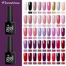 Verntion couleur Gel vernis à ongles Semi-permanent UV vernis Semi-Permanent Gel longue durée vernis à ongles 8 ml ongles Art