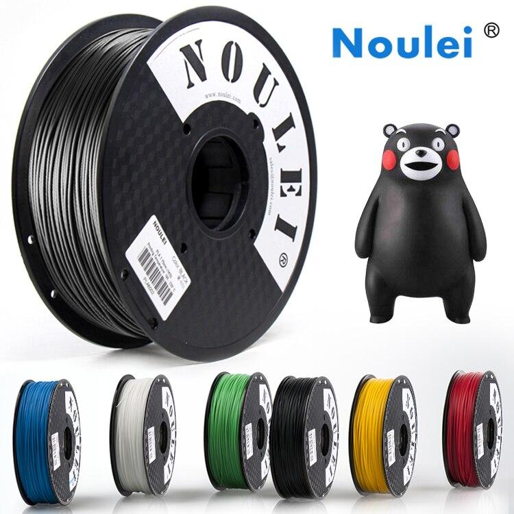 Noulei 3D Printer Filament 0.5KG 1.75mm Colorful High quality plastic 3D Filament Printing Materials Many Colors