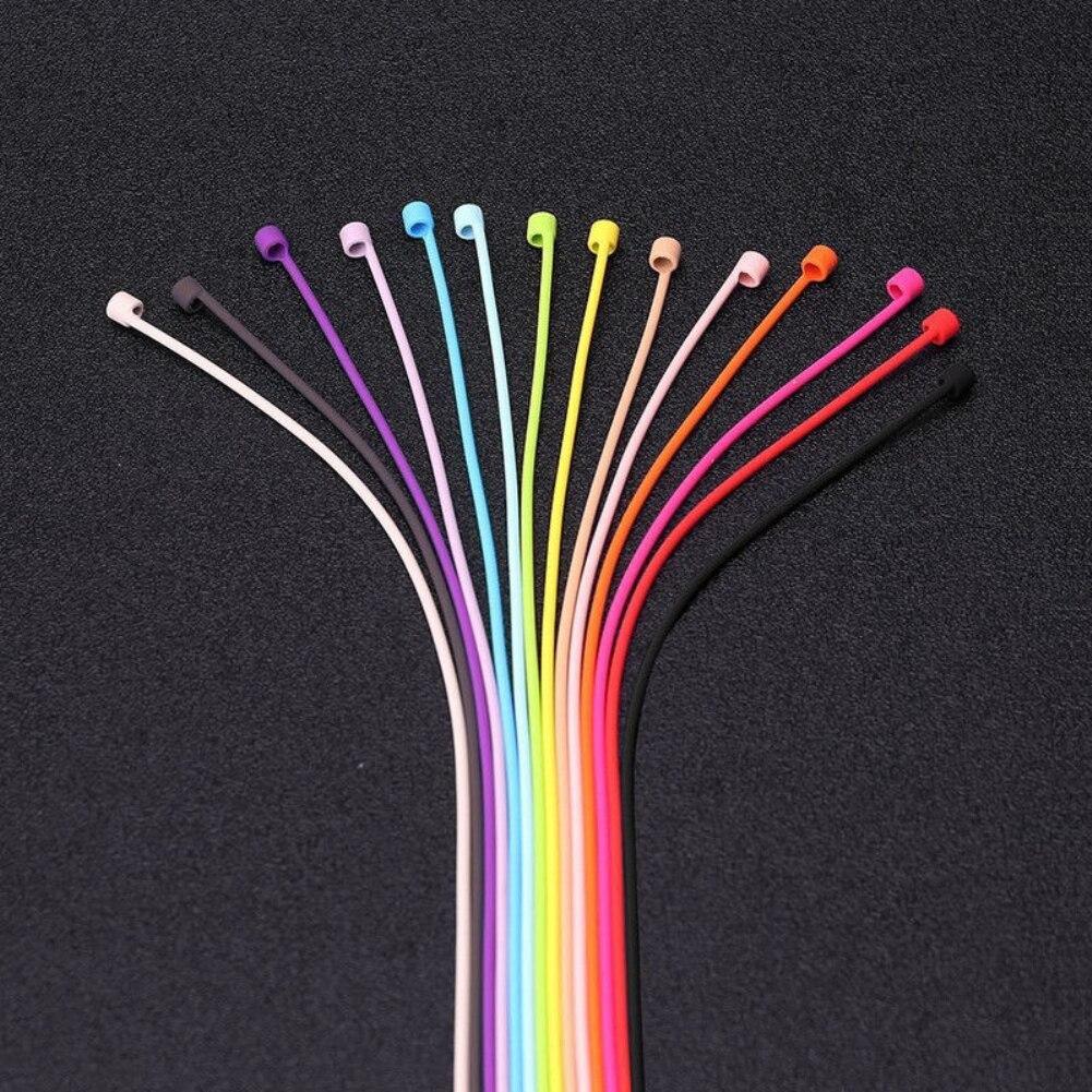 1 шт. для AirPods силиконовый анти-потерянный шейный ремешок беспроводные наушники шнур для наушников Аксессуары для наушников