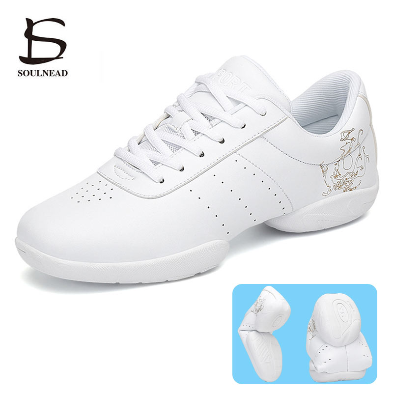 Women Aerobics Shoes Sneakers Jazz Dance Shoe Hip-hop Children Girls Competitive Gym Fitness Shoes K