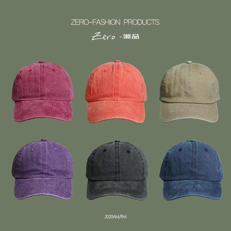 Fashion Washed Men Baseball Cap Women Snapback Caps Hats For Men Trucker Hip hop Vintage Casquette Bone Male Dad Baseball Hat