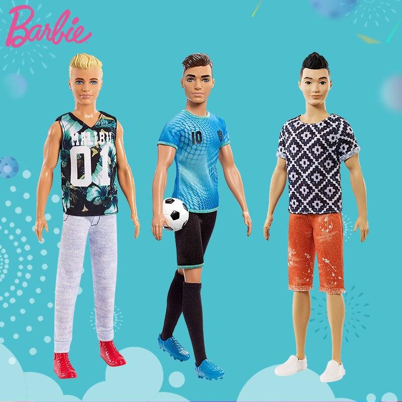 Muñeca Barbie Original para niños y niñas, juguete para novio, Ken, AsianSports