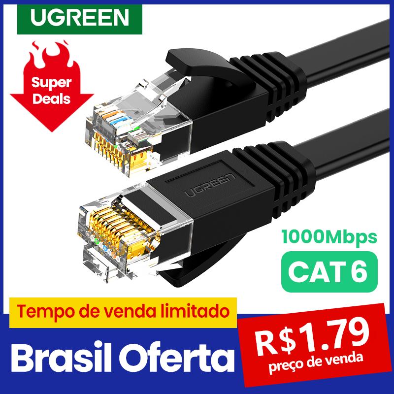 Ugreen-Cable Ethernet para enrutador de portátil, cable Lan Cat6 UTP CAT 6...