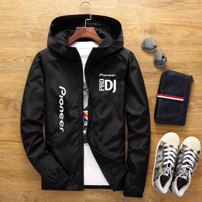 Новинка весна-лето 2021 мужская куртка с капюшоном мужская Повседневная ветровка на молнии тонкая секционная Мужская куртка с капюшоном