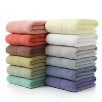 microfine bath towels 70140cm 100 cotton bath towels for adults towel bathroom solid bathing swimming vacation rectangle