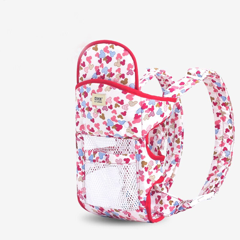 New Baby Carrier Double Shoulder Summer Breathable Multifunctional Mother Sling Maternal And Child Products Mesh Breathable Soft